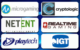 Online casinos run on a variety of software platforms