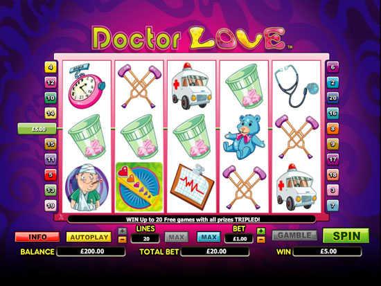 Doctor Of Love Slot