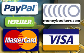 There is a wide variety of online casino payment methods to choose from when playing