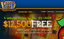 12,500 reasons to head over to Crazy Slots Casino