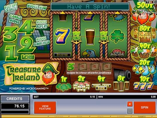 Treasure Ireland Slot